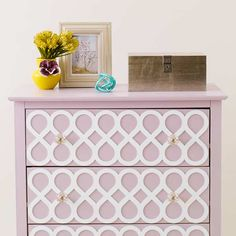 Glam Dresser: Final | Furniture Face-Lifts With Overlays | This Old House Mobile