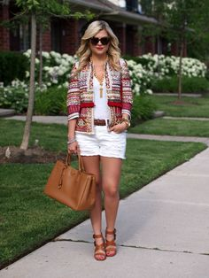 Suburban Faux-Pas: Tribal Jacket, need a gold tassel necklace Stylish Outfits, Fashion Outfits, Women's Fashion, Casual Chic Style, Spring Summer Fashion, Fashion Looks, Street Style, Style Inspiration, Clothes For Women
