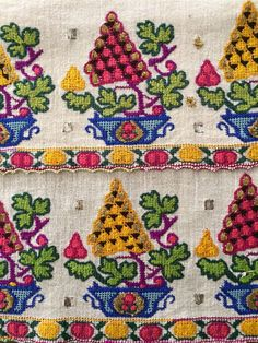 19th C Antique Ottoman Turkish Gold Silk Hand Embroidery on Linen Yaglık   eBay******
