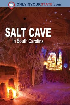 South Carolina's salt cave is a unique bucket list attraction unlike anything you've ever seen. Descend into this secret underground chamber and allow yourself to find complete relaxation. It's definitely a must-visit travel destination! South Carolina Attractions, South Carolina Vacation, Greenville South Carolina, Myrtle Beach Vacation, Beach Trip, Columbia South Carolina, North Carolina, Myrtle Beach Things To Do, Myrtle Beach South Carolina