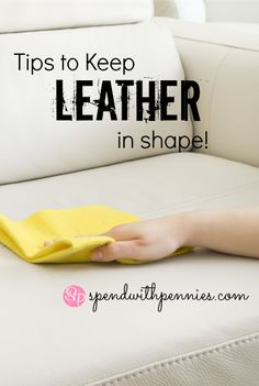 Leather couches, leather purses, leather jackets… They can be difficult to clean and keep looking new. Here's a guide to keep your leather looking great and keeping it protected! Do it Yourself Cleaner: Got a spot on your leather? Mix one part lemon...