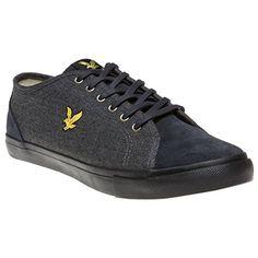 Lyle & Scott Teviot Herringbone Herren Sneakers Grau - http://on-line-kaufen.de/lyle-scott/lyle-scott-teviot-herringbone-herren-sneaker