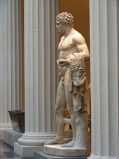 Youthful Hercules.  New Greek and Roman Galleries - Metropolitan Museum of Art