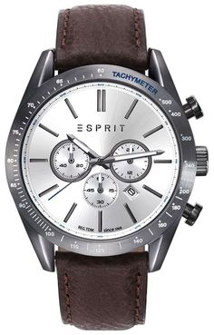 Esprit For Men Analog, Dress Watch Casio, Chronograph, Egypt, Latest Fashion, Watches For Men, Quartz, Stainless Steel, Band, Leather