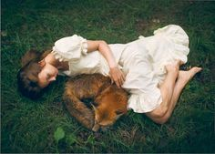 BEAUTIFUL GIRLS AND WILD ANIMALS – AMAZING SURREAL PHOTOGRAPHS OF KATERINA PLOTNIKOVA A selection of photographs by Russian artist Katerina Plotnikova, based in Moscow, who takes us into a surreal world populated by beautiful girls and wild animals, through dreamlike, poetic and fascinating portraits… A truly magnificent and amazing work created with real animals! (and not with simple photo montages, see the last picture)