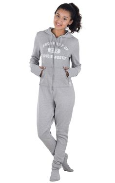 cd94f686d418 Black hooded footie pajamas.I can never have to many comfy clothes ...