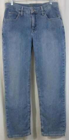 Riders Jeans Size 10 Petite Relaxed Fit 31x29 1/2 #Riders #Relaxed