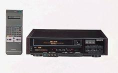 ソニー初のVHSビデオデッキ SLV-7