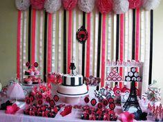 Decoração de Festa Paris                                                                                                                                                                                 Mais