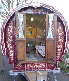 I definitely would rather have a gypsy caravan out back, than a fort or traditional playhouse for the kids to play in.