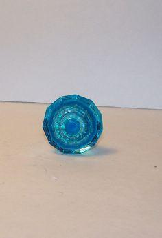 Set of 4 Bright Blue KnobDresser Drawer by ShabbrusticChic on Etsy, $16.95