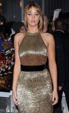 """<b>Which is the best? All of them.</b> Jennifer Lawrence has had a busy March, promoting the bejesus out of """"The Hunger Games"""" on a globetrotting tour of press events and premieres. Here's a sampling of what she's worn throughout the month."""