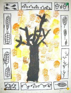 Pour l'idée des cadres en feuilles (ou en autre chose). Love the leaves frame.