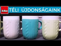 Téli újdonságaink | Kika Magyarország - YouTube Mugs, Tableware, Youtube, Dinnerware, Tumbler, Dishes, Mug, Place Settings, Youtube Movies