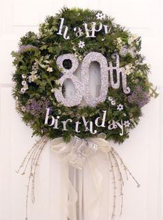 I threw a party for my Dad's 80th Birthday which was on February 1, 2010. It was such a joy to see him so happy. And I had fun creatively putting it all together. I placed a centerpiece on ev…