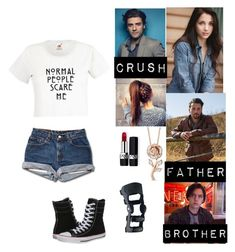 """""""Rouge Jones (Riverdale)"""" by rroyalserena on Polyvore featuring Christian Dior, Disney, Converse, riverdale and rougejones"""