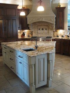 Delicatus Gold Granite Countertops