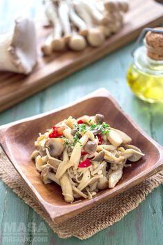 Mushrooms recipe-Wafu Style Marinated Kinoko-