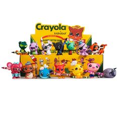 Crayola Coloring Critters Blind Box Mini Series - Kidrobot - 1