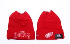 6910d99f122 NHL Detroit Red Wings Beanies (5)