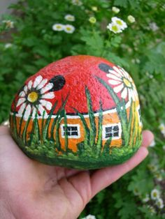 Paint garden stones with the fam?