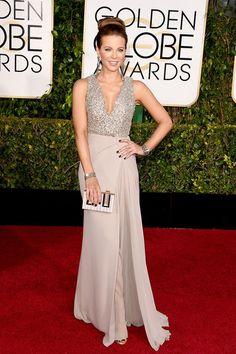 Golden Globes 2015: Kleider | Kate Beckinsale in Elie Saab | Abendkleid