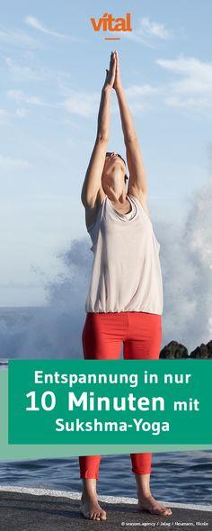 Ihr möchtet Yoga machen, Euch aber nicht eine Stunde pro Tag zur Brezel biegen? Braucht Ihr auch nicht: Dieses Workout entspannt und kräftigt!