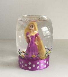 Personalized Snow Globe  Rapunzel Snow Globe  by GingerspiceStudio