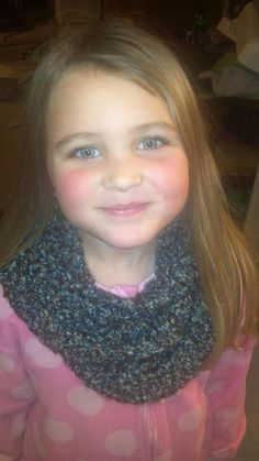 Children's Cowl/Infinity Scarf by DJCrochetCreations on Etsy, $15.00