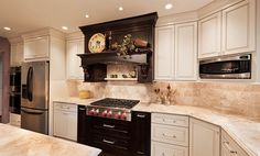 Kansas City Kitchen Remodeling Before and After Gallery   Schloegel, Lovely backsplash granite
