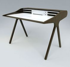 Mesa: laptop desk, design from Peter Maes.   Bureau voor laptop.