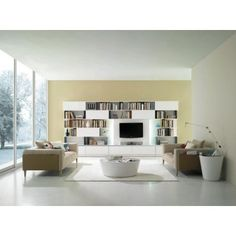 Crocus - White Lacquer Coffee Table - Coffee, Side & End Tables - Living Room