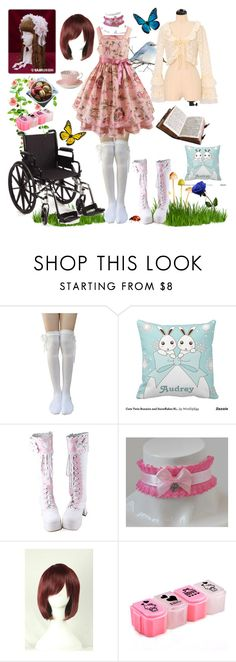 """""""Garden Girl"""" by lucifox ❤ liked on Polyvore featuring Hello Kitty and Royal Albert"""