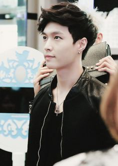 Lay, why are you so cute and sexy and everything and perfect? You can't compete with GD tho. (He's my third bias. And yes I have three. He shifts between third and second.)