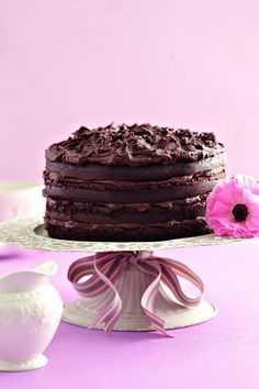 SA se njammieste sjokoladekoek - World Cuisine Audition Chocolate Peanut Butter, Chocolate Desserts, Beautiful Cakes, Amazing Cakes, Cake Cookies, Cupcake Cakes, Cupcakes, Kos, Ma Baker