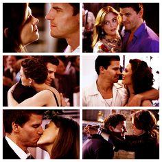 "Dr. Temperance ""Bones"" Brennan & Special Agent Seeley Booth | Bones     #emilydeschanel #davidboreanaz #couples"