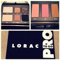 The beautiful #MissBlairFowler shares a pic of her new PRO To Go Palette!