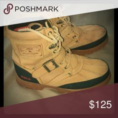 Polo boots Gently worn Polo by Ralph Lauren Shoes Combat & Moto Boots