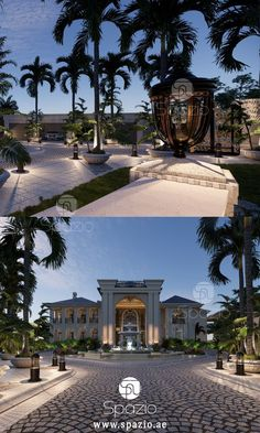 High-end marvelous design for a dream home Interior Design Companies, Best Interior Design, Garden Landscape Design, Garden Landscaping, Palace, Architecture Design, Mansion Designs, Style Royal, Companies In Dubai