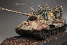 Kingtiger Henshel turret Ardennes 1944