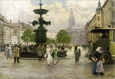 """""""Storke Spring""""  ... by Paul Gustave Fischer  - Copenhagen"""