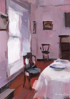"""Violet - Quick Study"" - Original Fine Art for Sale - © David Lloyd"