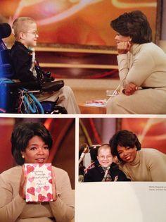 Mattie Stepanek - Child Philosopher, Prophet, Poet, and a Peacemaker. On the Oprah Show October 29, 2001