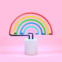 This will be in my house soon people. Sincerely, CK rainbow neon light - large from ban.do