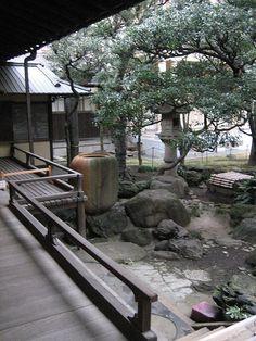 Garden of Iwasaki Villa , Ueno Tokyo 旧岩崎邸庭園