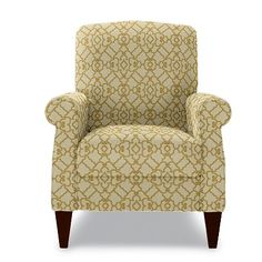 Charlotte High Leg Recliner by La-Z-Boy. starting to think about redoing our bedroom.  Overwhelming!