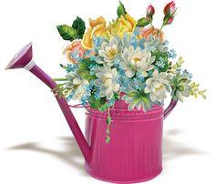 CH.B *✿* Flower Vases, Flower Art, Friendship Flowers, Diy Box, Decoupage, Beautiful Pictures, Creations, Photoshop, Blog