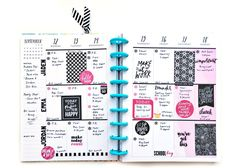 one September week, two ways in The Happy Planners™ of mambi Design Team member…