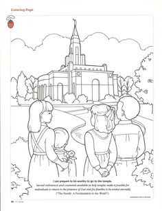 LOTS of cute coloring pages for church