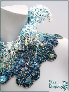 The Ninth Wave. Anna Braginskaya - Beaded Jewelry